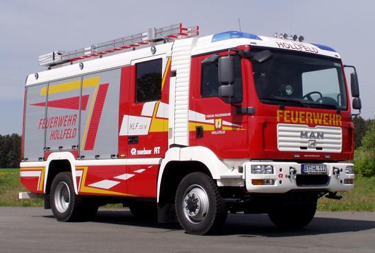 HLF 20/16 der Hollfelder Feuerwehr