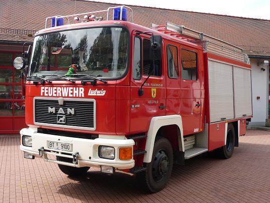 LF16/12 der Hollfelder Feuerwehr