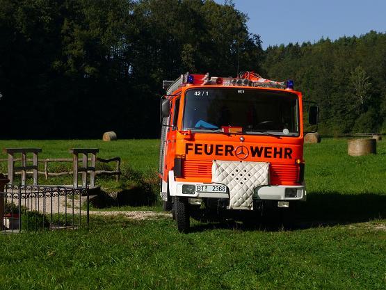 LF 8 der Hollfelder Feuerwehr