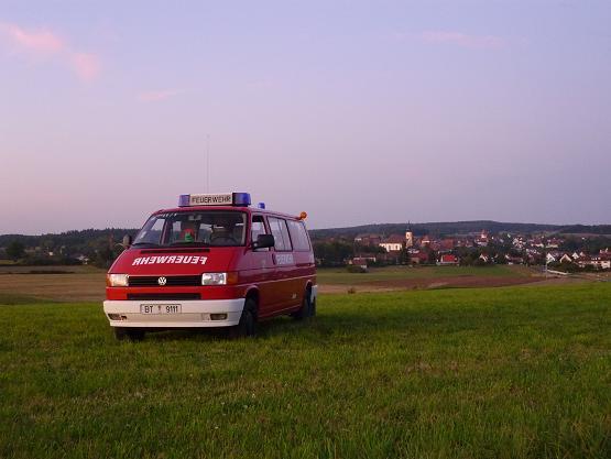 Mehrzweckfahrzeug der Hollfelder Feuerwehr